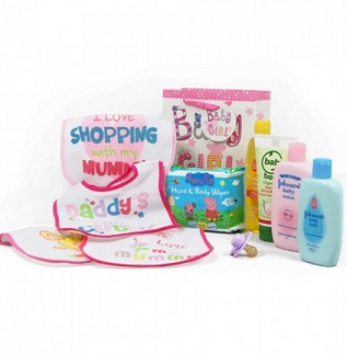 Baby Essentials Hamper (Girl) image